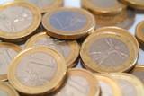 monete da un euro poster