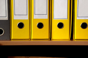 Yellow files row