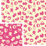 seamless patterns - kids