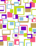 colorful geometrical abstract background poster