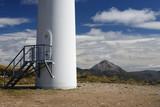 Wind turbine base, Ireland poster