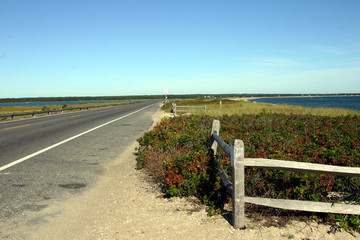 Lonely Road on nantucket