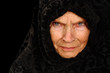 Amazing Portrait of a Elderly Russian Peasant Woman