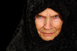 Amazing Portrait of a Elderly Russian Peasant Woman poster
