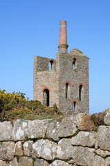 Cornish tin mine ruins, St Just