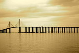 Skyway Bridge in Tampa, Florida poster