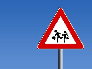 Segnale pericolo bambini
