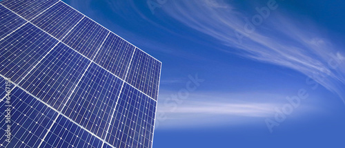 Solar panel and great sky - 6467153