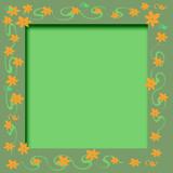 scrapbook flowers poster