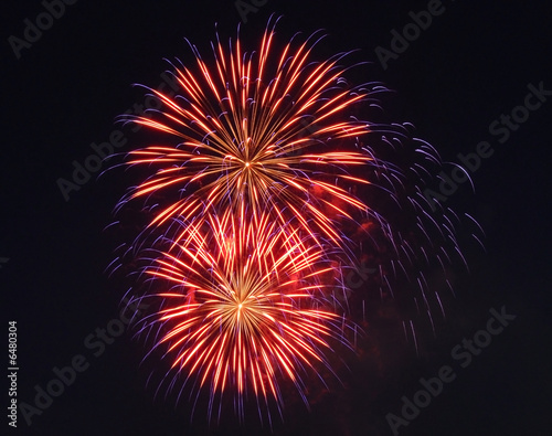 Fireworks display on Independence Day