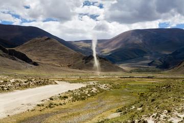 Whirlwind in Tibet / China