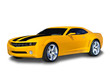 Yellow Sports Car
