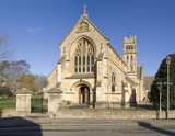 St catherine catholic church in chipping campden   poster