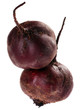 Beet purple vegetable isolated on white background
