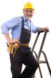 happy repairman poster