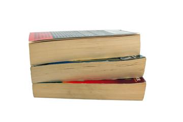 Three paperback books