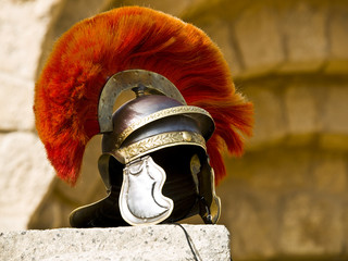 Roman Legionar's helmet