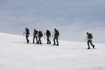 militaires en montagne