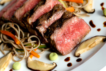 Seared japanese beef