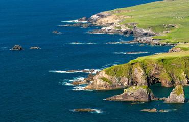 Paysage de bord de mer en Irlande