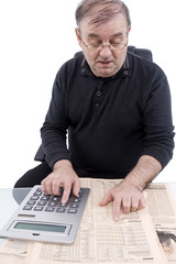 Pensionist rechnet