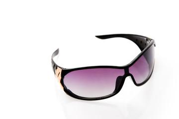 female sunglasses isolated on the white