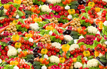 Colorful vegetable background in high resolution