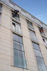 External window washing