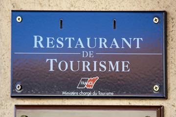 Restaurant de tourisme