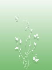 Schmetterlinge, Flower
