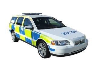 A High Speed Motorway Police Car.