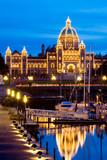 Parliament building, Victoria, British Columbia poster