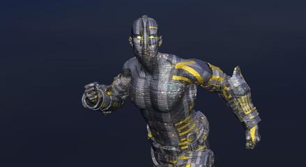 cyborg man