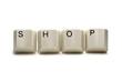Shop - computer keys