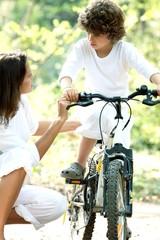promenade à vélo
