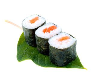 sushi. Isolation on a white background