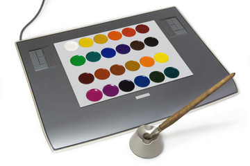 Graphic tablet concept