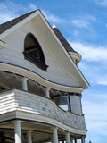 Curvy Victorian Seaside Home, Ocean Grove, NJ poster