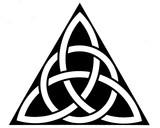 triangle celtique poster