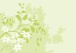 vecteur série - design floral arbre et fleurs au printemps