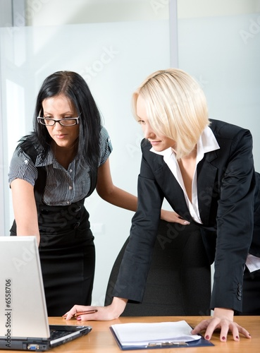 businesswomen at work