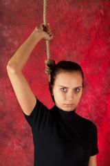 Suicide. Hanging...stop!