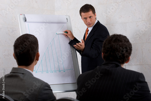 businessman presenting2