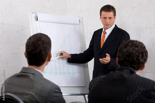businessman presenting4