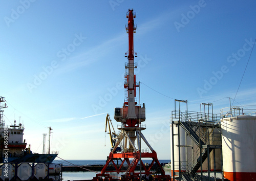 "The Base of the providing the oil project ""Sakhalin""."