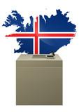 Election islandaise poster
