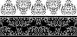 wrought iron elements - repeating left to right poster