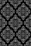 wrought iron pattern - repeating left to right, top to bottom - 6569197