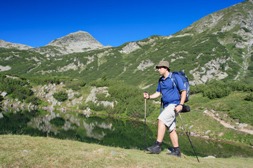 Hiking in national park Pirin, Bulgaria