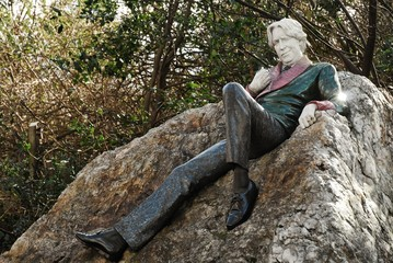 Writer, Dublin, Merrion Square